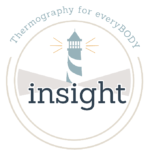 Insight Thermographics Lighthouse Logo White