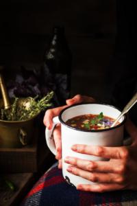 rustic winter soup